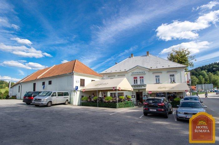 Moderní a komfortní ubytovací zařízení - Hotel Šumava