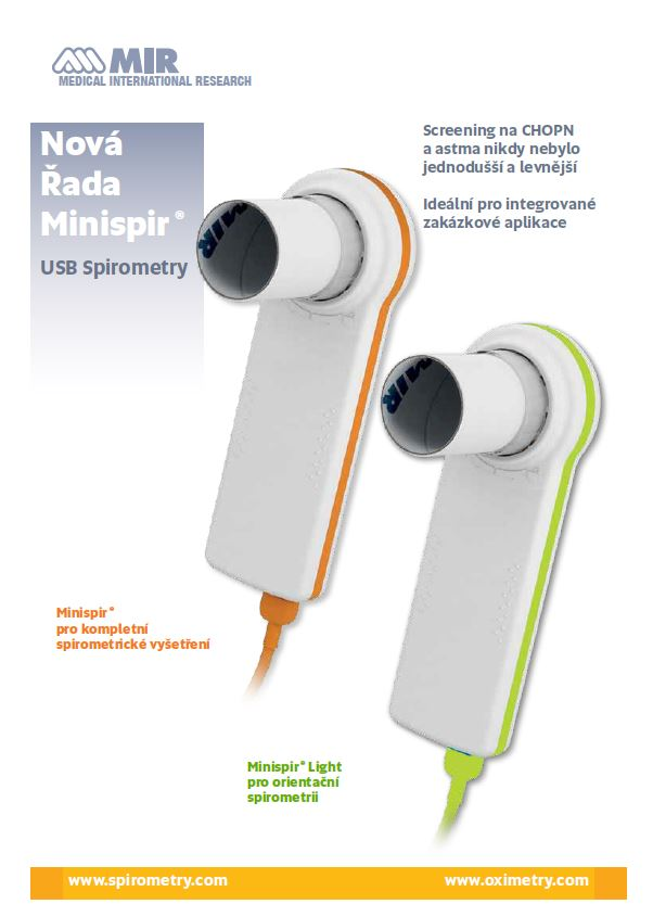 Měření plic spirometry