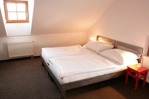Komfortní ubytování v hotelu v Telči