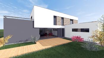 Architektonická činnost, projekty pro obytné i průmyslové objekty