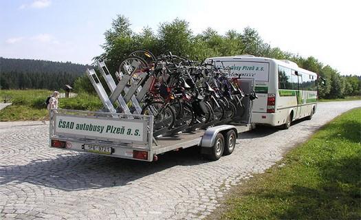 Cyklobusy, městská hromadná doprava
