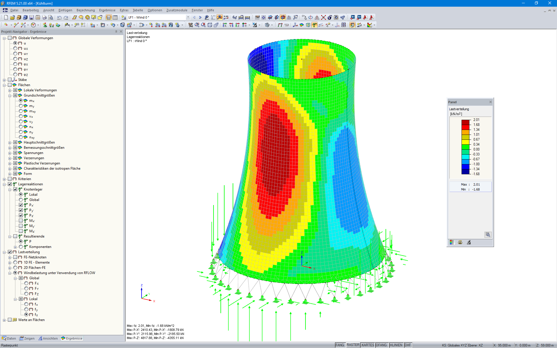 RWIND Simulation - Simulace větru - větrný tunel