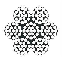Kvalitní ocelová lana standardní