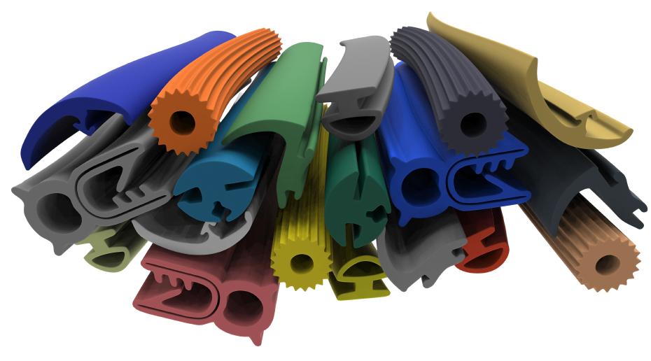 Komponenty pro průmysl ze silikonu a kaučuku