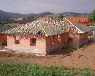 Realizace kompletních střech