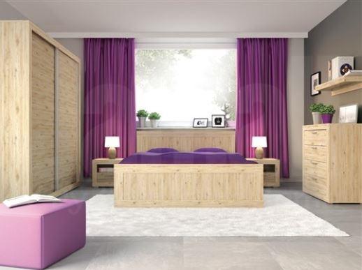Moderní nábytek pro ložnice - postele a sektorové skříně. prodej na e-shopu