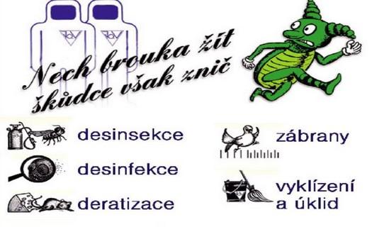 Deratizace, dezinsekce i dezinfekce, hubení hlodavců, štěnic, vos i sršní, vyklízení a úklid
