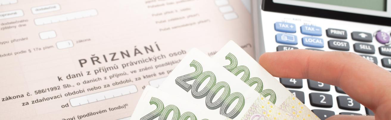 Ekonomia JH, s.r.o. Sedlčany, zpracování daňového přiznání