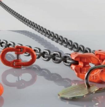 Ocelové řetězy Pewag pro nejrůznější využití