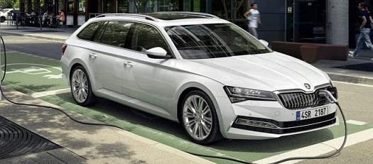 Ekologické vozy budoucnosti -CITIGOe iV a SUPERB iV