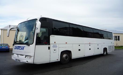 Autobusová doprava, autobusy pro vnitrostátní i mezinárodní přepravu osob, kol i lodí