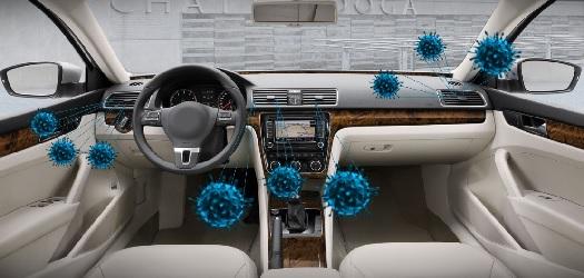 Ozónové čištění vozidel - účinná dezinfekce auta i na COVID-19