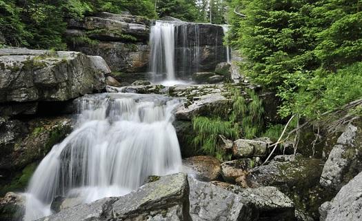 vodopády na řece Jedlové