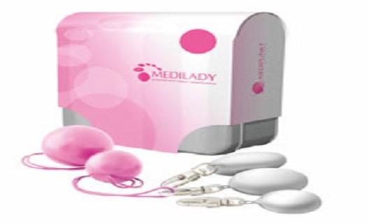 MediLady -  zdravotní pomůcka pro zpevnění svalů pánevního dna žen