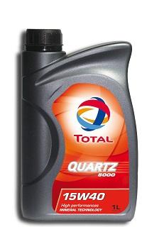 Motorové oleje TOTAL - distribuce  Morava, Vysočina