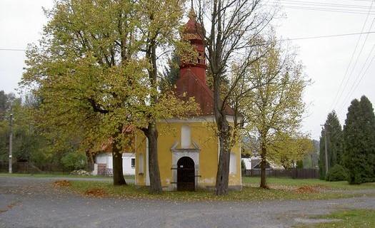 Kaplička Nejsvětější Trojice, obec Mnichov