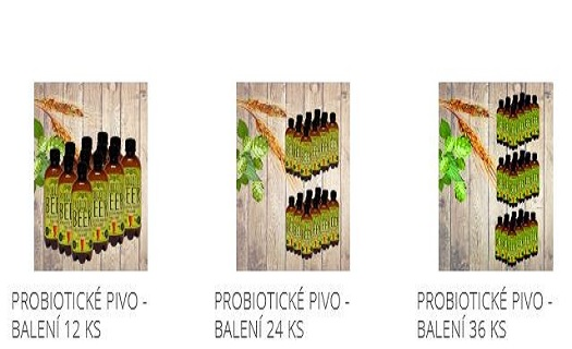 unikátní český výrobek - probiotické pivo