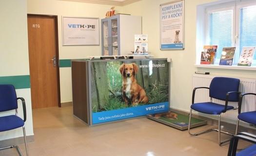 Veterinární klinika Vethope, preventivní péče, špičková diagnostika Praha
