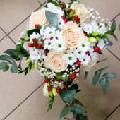Prodej květin, květinových vazeb