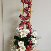 Rozvor květin, květinových vazeb na přání