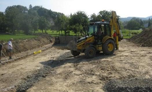 Zemní práce, výkopové práce, zakládání staveb, demolice Strakonice