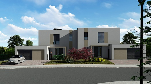 Construction of new turnkey family houses - desired location, lands with a southern orientation, the Czech Republic