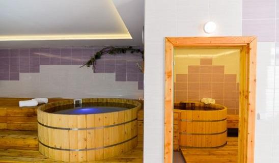 Wellness hotel na  Pálavě - vířivá vana, finská sauna, masáže