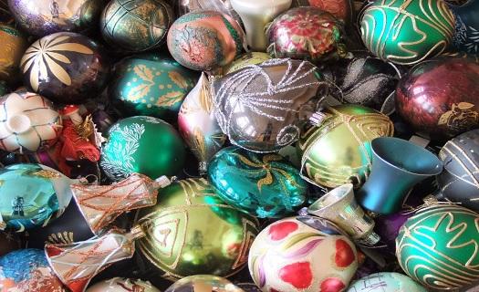 Expozice Tradice výroby vánočních ozdob