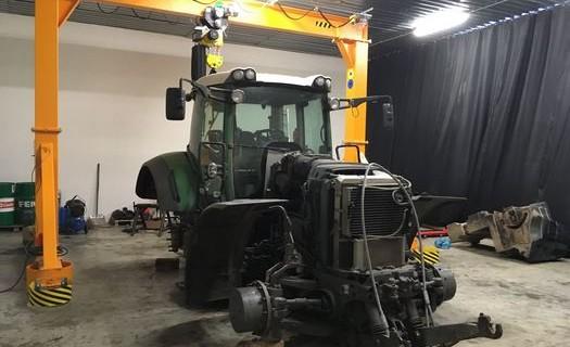 Odborný servis traktorů a zemědělské techniky Pelhřimov, opravy traktorů, pravidelné údržby, FENDT