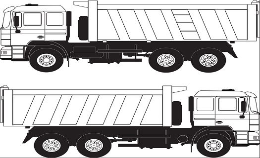 Přeprava sypkých stavebních materiálů -  kompletní zásobování staveb