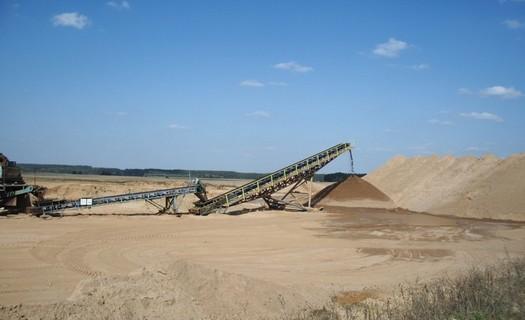 Těžba písku, štěrkopísků prodej písku, štěrkopísků Chlumec nad Cidlinou