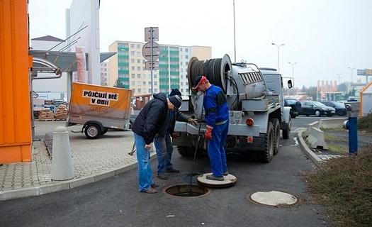 Čištění kanalizace,  kontrola kanalizačního potrubí Teplice, odvoz fekálií, čištění jímek, žump