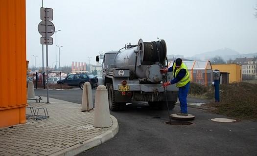 Kontrola kanalizačního potrubí Teplice, odvoz fekálií