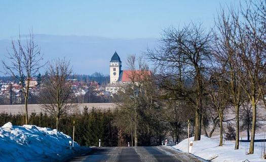 Město Dačice v Jihočeském kraji, pomník kostky cukru, zámek Dačice