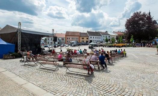 Město Dačice, slavnosti