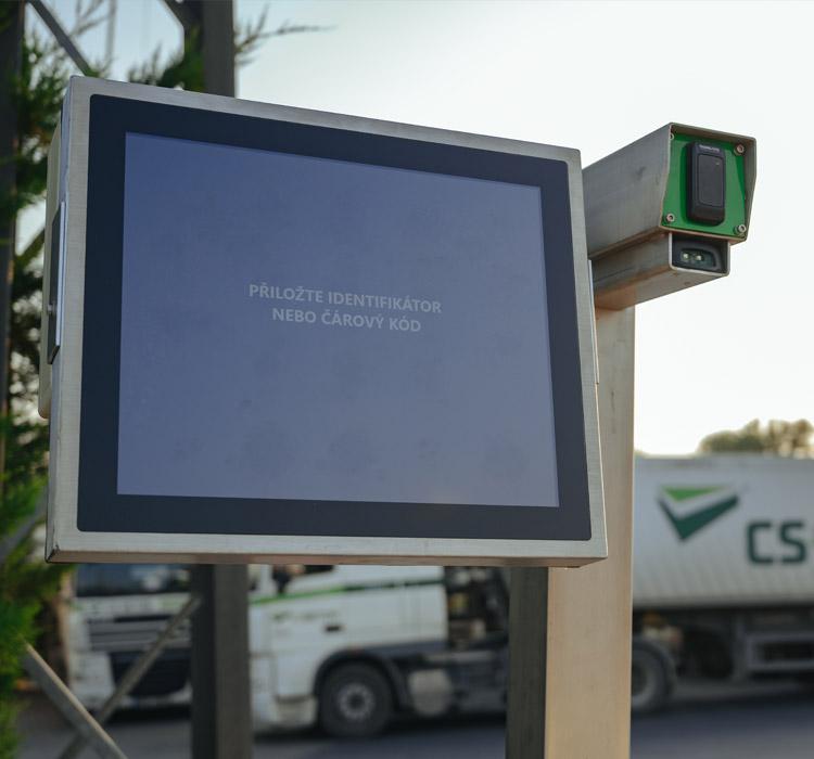 Vyvolávací systém nákladních vozidel pro společnost CS-BETON s.r.o.