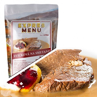 Trvanlivá hotová jídla Expres Menu - hotovky na doma i cesty - Eshop