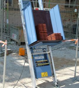 Prodej stavebních výtahů a shozů  - široký výběr strojů pro všechny typy provozů