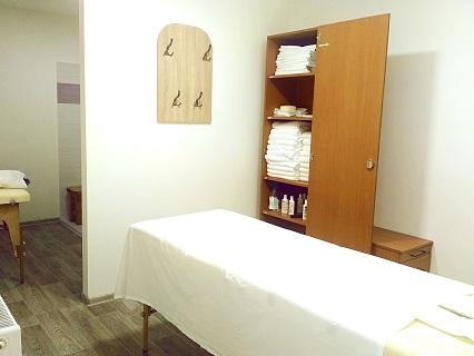 Ubytování s wellness centrem s  masážemi