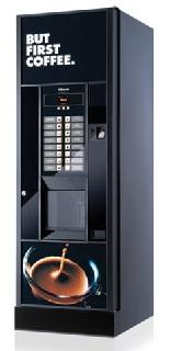 Inovativní nápojový automat SAECO s dotykovým displejem a s elegantním designem – pronájem