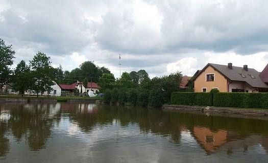 Obec Vatín v kraji Vysočina, rybník Návesník