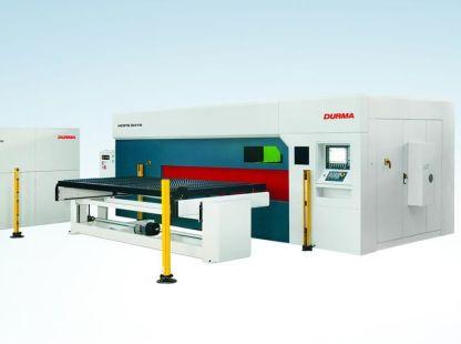 Jemné řezání plechů na průmyslovém laseru - vláknový laser DURMA HDF