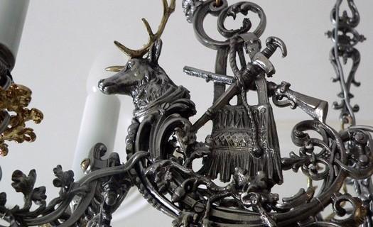 Prodej - restaurovaná starožitná svítidla Brno