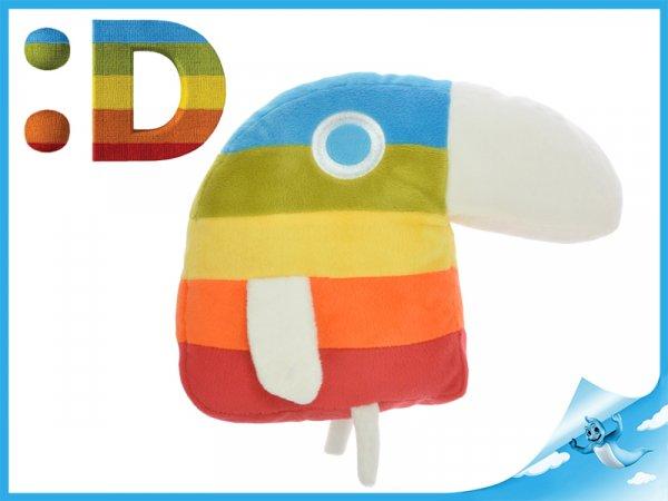 Plyšová hračka Papoušek Déčko