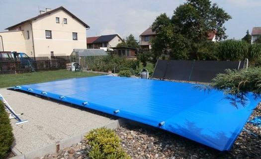Plachtové zakrytí, zastřešení bazénů České Budějovice