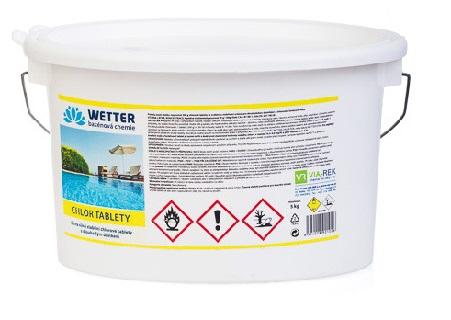 Prodej chlorových tablet pro dezinfekci bazénové vody