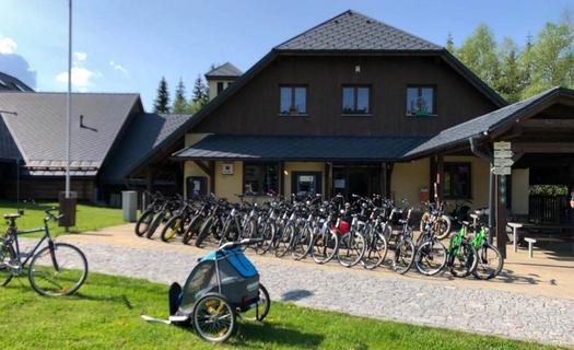 Půjčovna kol, dětských vozíků a odrážedel na Šumavě