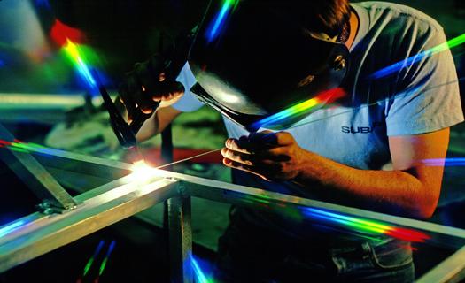 Zámečnické práce, obrábění kovů, svařování a řezání