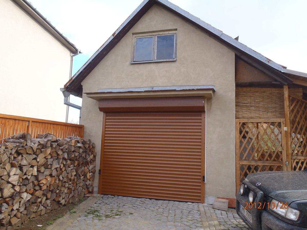 garážová vrata roletová a sekvenční