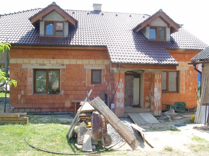 Výstavba domů, hrubé stavby na klíč
